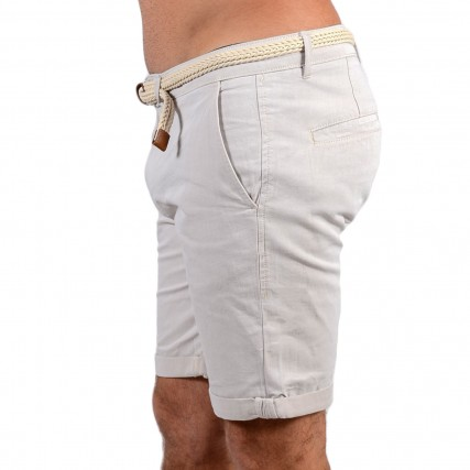 1024576-26351 TOM TAILOR 2ND 103 CHINO SHORTS YD WITH BEΡΜΟΥΔΑ ΑΝΔΡΙΚΟ ΜΠΕΖ