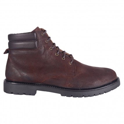 IF06205-20 HUDSON HANDEL OILED SUEDE BROWN BOOTS ΑΝΔΡΙΚΑ ΠΑΠΟΥΤΣΙΑ ΚΑΦΕ