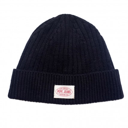 PM040494-985/INFINITY PEPE JEANS E2 RONY HAT  ΣΚΟΥΦΟΣ ΜΑΥΡΟ