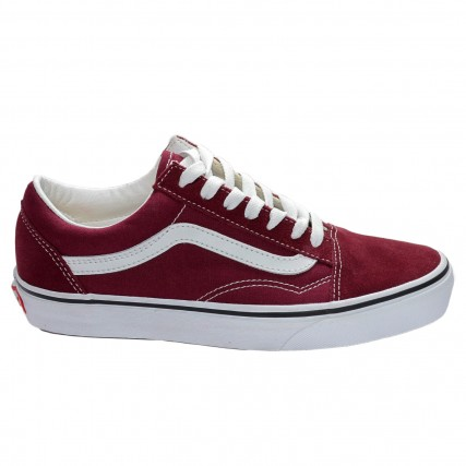 VN0A38G15U71 VANS OLD SKOOL PORT ROYALE/TRUE WHITE SNEAKERS ΜΠΟΡΝΤΟ