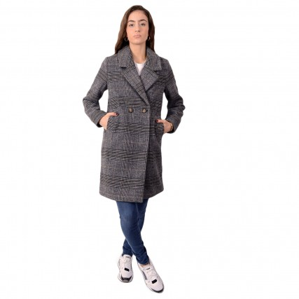 20808461-80001 BYOUNG AO 2020 BYAMANO COAT 2 ΓΥΝΑΙΚΕΙΟ ΠΑΛΤΟ ΓΚΡΙ