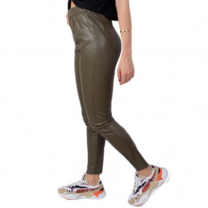 20808827-190515 BYOUNG MA 2020 BYDANAX LEGGING ΓΥΝΑΙΚΕΙΟ ΠΑΝΤΕΛΟΝΙ FAUX LEATHER ΛΑΔΙ