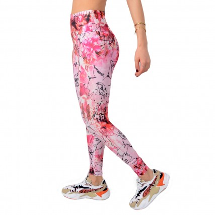 O0BA21MC01P-P49Y GUESS LEGGINGS 4/4 - MICROFIBER KNU83103 ΓΥΝΑΙΚΕΙΑ ΚΟΛΑΝ ΡΟΖ
