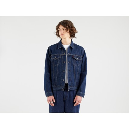 72334-0557 LEVIS THE TRUCKER JACKET - ROCKRIDGE TRUCKER ΑΝΔΡΙΚΟ ΜΠΟΥΦΑΝ ΤΖΙΝ
