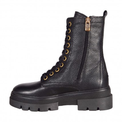 FW0FW05185-BDS TOMMY HILFIGER RUGGED CLASSIC BOOTIE ΓΥΝΑΙΚΕΙΟ ΜΠΟΤΑΚΙ ΜΑΥΡΟ