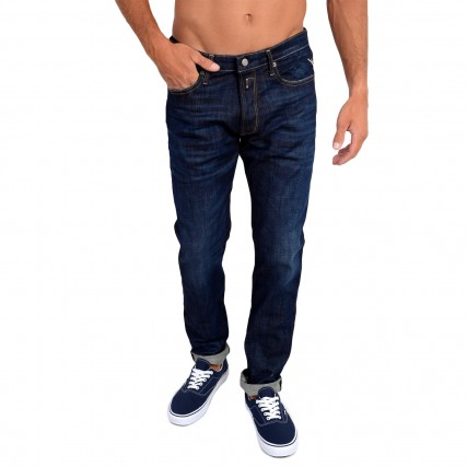 MA900.000.285780.007 REPLAY DONNY ΑΝΔΡΙΚΟ ΠΑΝΤΕΛΟΝΙ ΤΖΙΝ SLIM TAPERED FIT