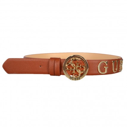 BW7352P0335-COG GUESS EMILIA NOT ADJUST&REVERS BELT ΓΥΝΑΙΚΕΙΑ ΖΩΝΗ ΚΑΦΕ