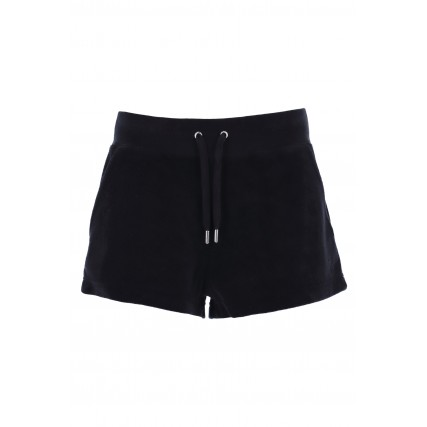 JCCH121006-101 JUICY COUTURE EVE - TOWELLING ΣΟΡΤΣ ΓΥΝΑΙΚΕΙΟ ΜΑΥΡΟ
