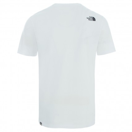 NF0A2TX4LB11 THE NORTH FACE M S/S NSE TEE TNFWHITE/TNFRED ΑΝΔΡΙΚΗ ΜΠΛΟΥΖΑ ΛΕΥΚΗ