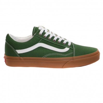 VN0A4U3BWYY1 VANS UA Old Skool (Gum) greener pastures/true white ΑΝΔΡΙΚΟ SNEAKER ΠΡΑΣΙΝΟ