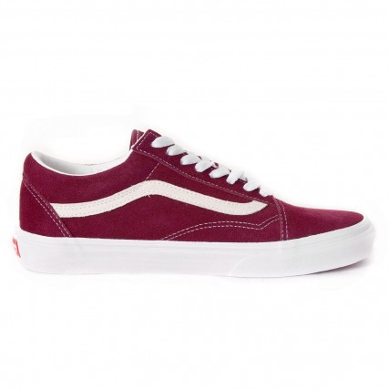 VN0A4U3B6DZ1 VANS UA Old Skool (Suede) port royale ΑΝΔΡΙΚΟ SNEAKER ΜΠΟΡΝΤΟ