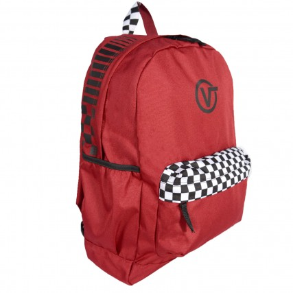 VN0A3PBITV11 VANS ΤΣΑΝΤΑ BACKPACK ΚΟΚΚΙΝΟ