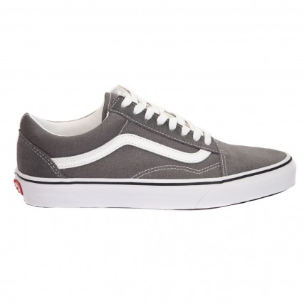 VN0A4BV51951 VANS UA Old Skool Pewter/True White SNEAKER ΓΚΡΙ