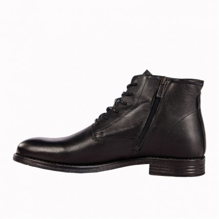 ΑΝΔΡΙΚΑ ΠΑΠΟΥΤΣΙΑ MTORIS BLACK MEN'S SHOES COXX BORBA (MTORIS60003)